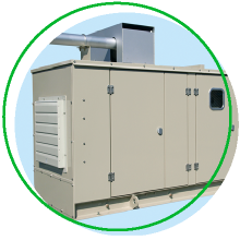 keishinの非常用発電機負荷試験の画像